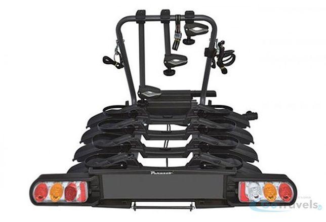Bagażnik na 4 rowery na hak Peruzzo Como 4
