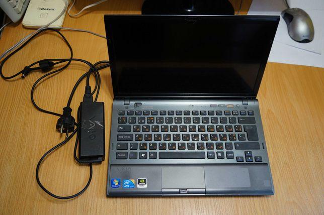"Ноутбук неисправный! Sony Vaio VPCZ12L9E  13 "", есть слот под симку"