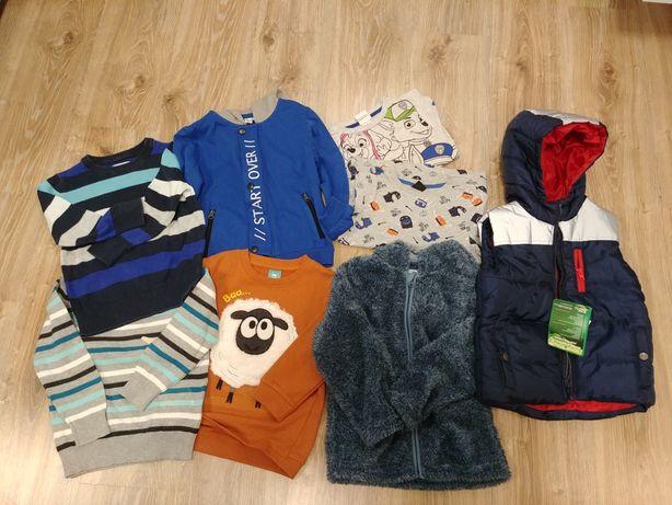 Ubrania dziecięce dla chłopca