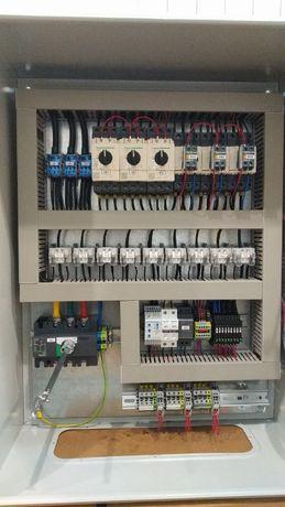 Електрик/автоматизація/КВПіА/автоматизовані проекти/щити управління