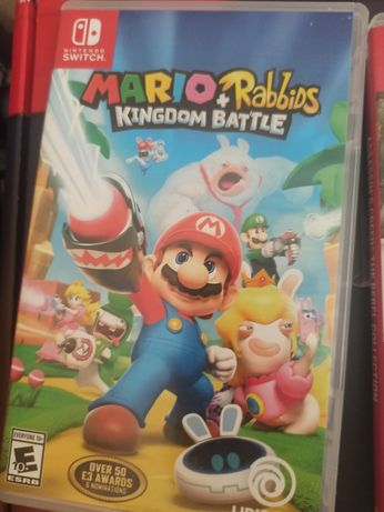 Mario rabbids nontendo switch