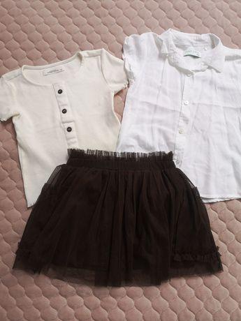 Zestaw spódniczka tiul bluzki, koszula 51015 Reserved 104