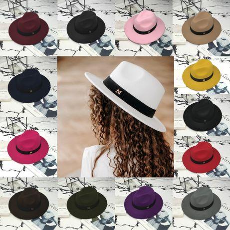 Шляпа Федора унисекс с устойчивыми полями Maison Michel РАЗНЫЕ ЦВЕТА