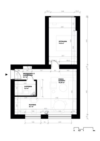 Mieszkanie 2-pokojowe, Chorzów