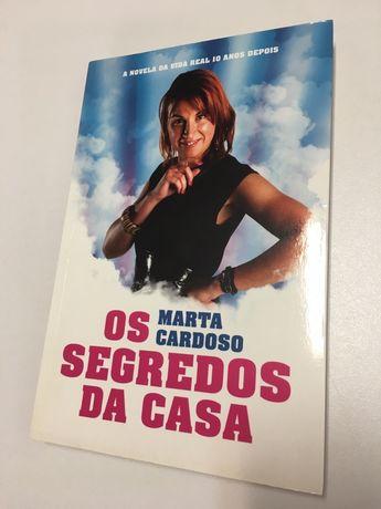 Livro - Os Segredos da Casa - Marta Cardoso (Big Brother)