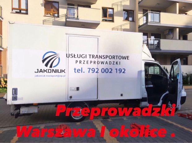 Uslugi transportowe, przeprowadzki bus z windą tanio