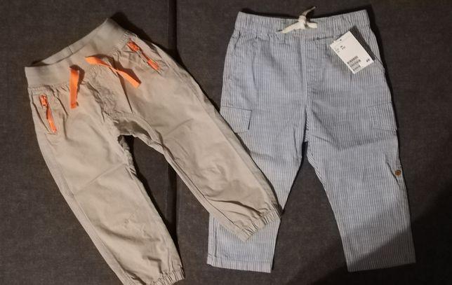Spodnie na lato h&m, cool club