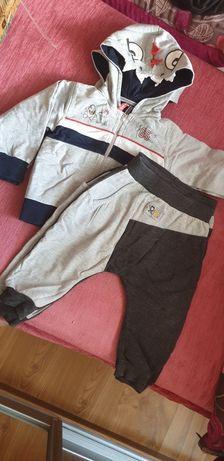 Dresik bluza + spodnie 80-86 bliźniaki KIKI  ESCALLANTE
