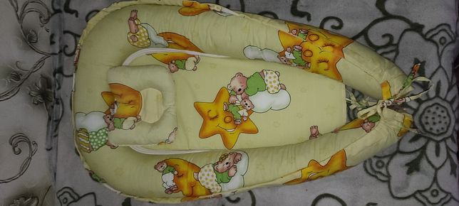 Кокон-гнездышко  с подушечкой
