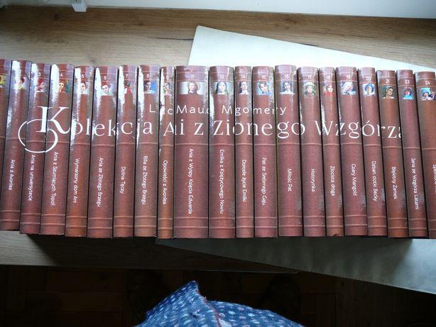 Lucy M. Montgomery Kolekcja Ani z zielonego wzgórza 22 tomy