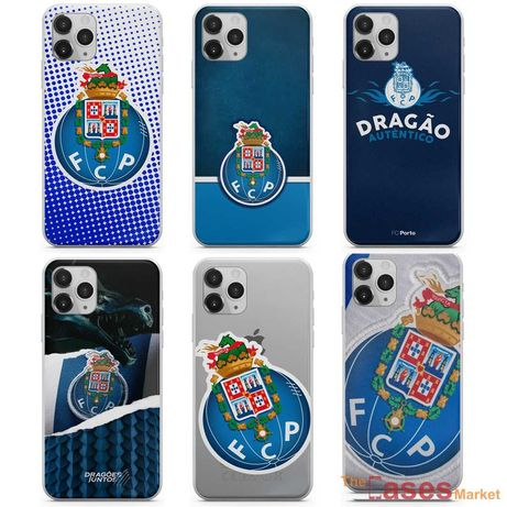 Capas de telemóvel FC Porto (iPhone, Huawei, Samsung, Xiaomi)