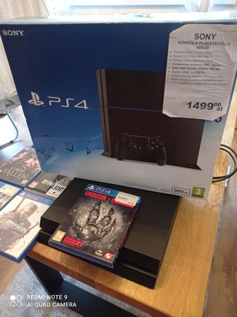 PS4 SONY konsola PLaystation  4 500GB