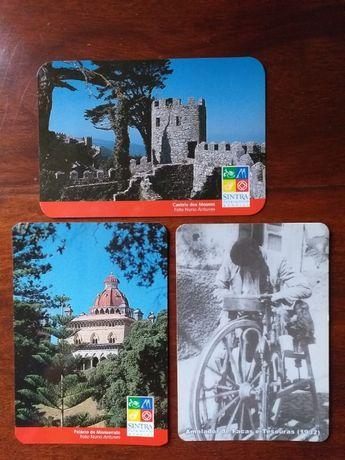 Cartões telefónicos + calendários
