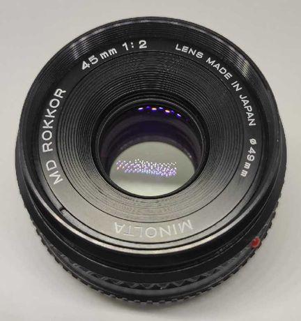 Minolta Rokkor 45mm f/2 MD