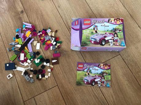 Lego friends 41013 samochod Emmy + gratis wiewiórka