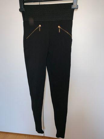 Spodnie typu leggins Zara rozmiar XS Wyprzedaż i promocja legginsy