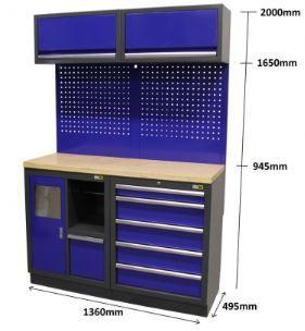 Mobiliário Armário Bancada de oficina á medida do seu espaço