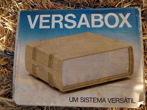 "Caixa ""Versabox"" para montagens de electrónica"