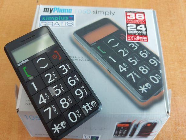 Telefon dla seniora 1050 simply
