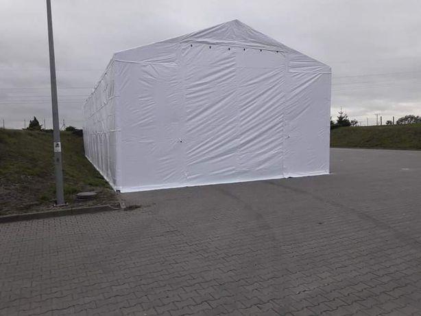 8x8m 4-5,5m Namiot magazynowy wzmocniony pawilon hala namiotowa MTB