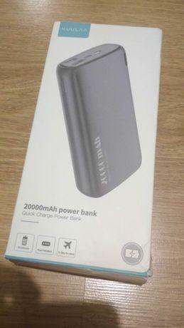 Power bank powerbank Kuulaa 20000mAh Bank energii ładowarka USB typ c