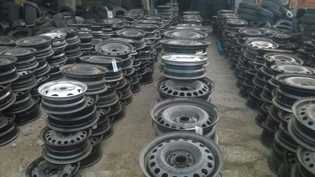 Felgi Aluminiowe Komplety-stalowe -R14,15,16,17,18,-wszystkie marki