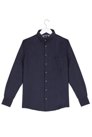 Wełniana elegancka koszula męska polska produkcja