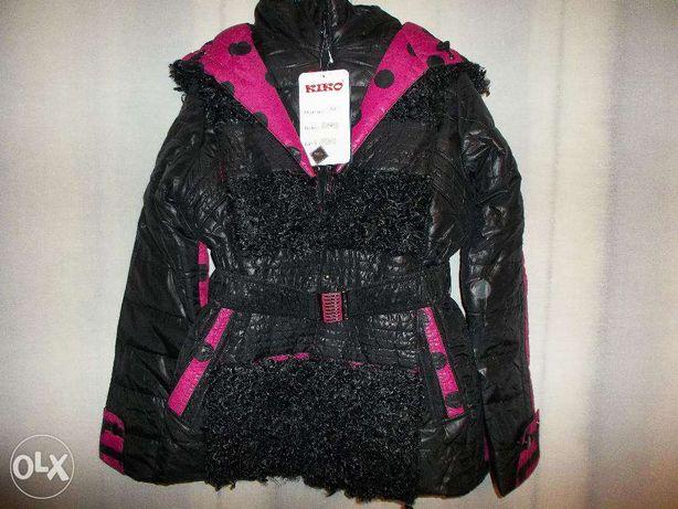 Новая зимняя куртка Kiko модель Панда - р. 164см