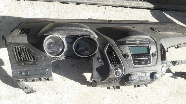 Хундай ix35 панель магнитола и кондиционера датчики Хундай ix35