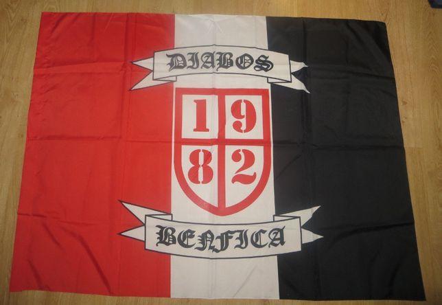 Bandeira Benfica Diabos Vermelhos