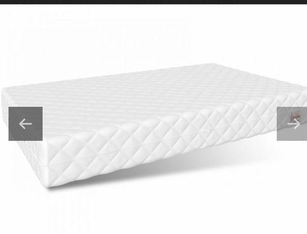 NOWY materac FDM pianka HR wysokoelastyczna 140x70 cm Ochraniacz 50%