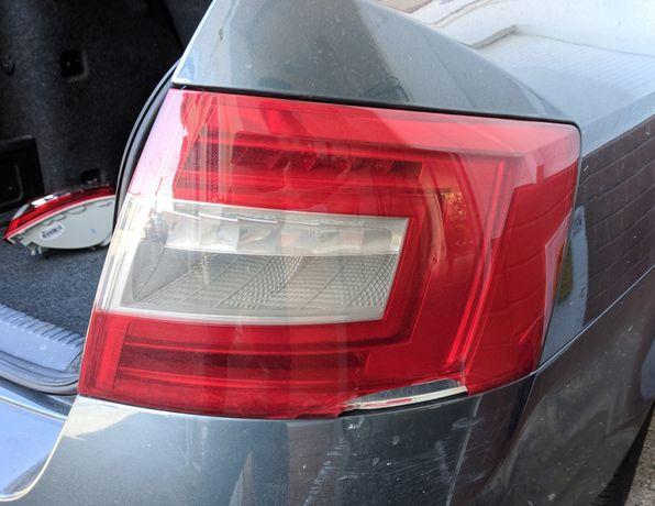 Farolim Traseiro LED Skoda Octavia III 2014 Usado