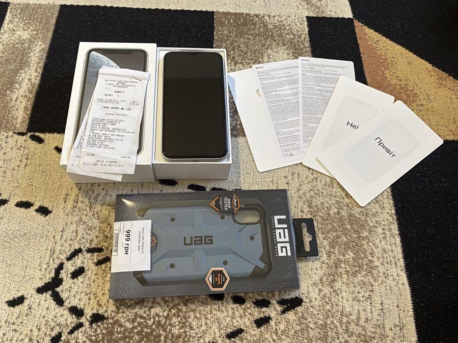Iphone XR 64gb Neverlock White / на гарантии от цитруса Одесса - изображение 1