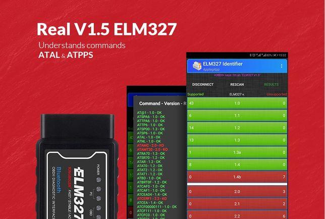 Диагностический сканер ELM327 / OBD 2 версия 1.5