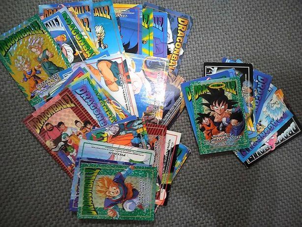 +40 Cartas Memoriais Dragon Ball Lote 3