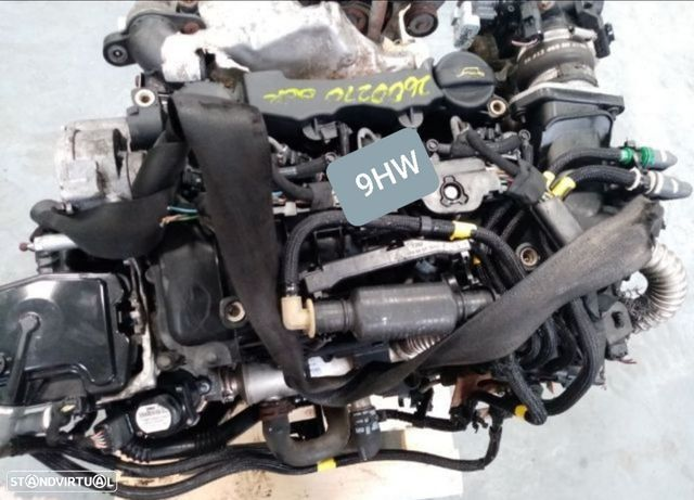 Motor Peugeot Partner Citroen Berlingo 1.6Hdi 75Cv Ref.9HW