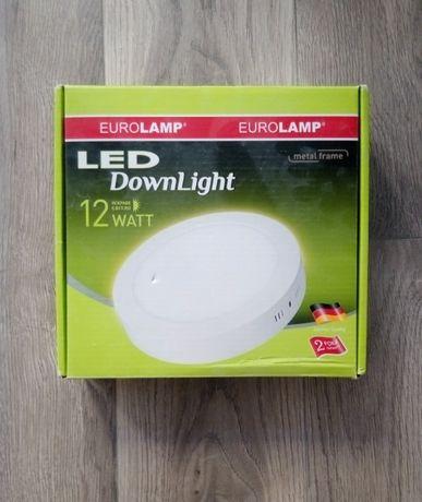 Новый светодиодный светильник EUROLAMP LED-NLR-12/4(F) Downlight 12W