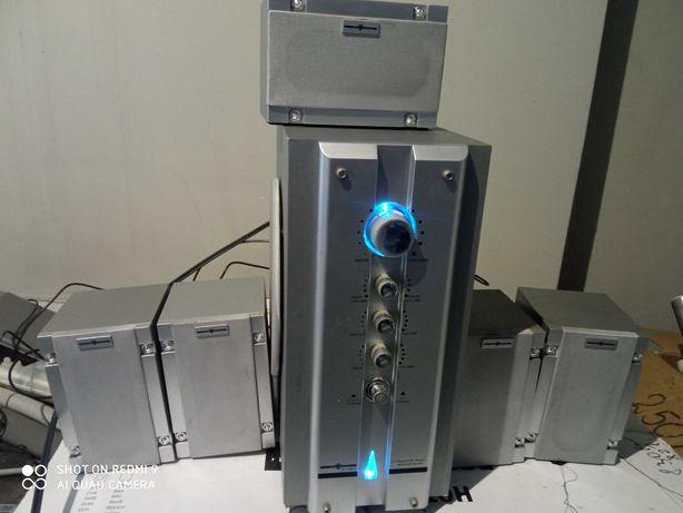 Głośniki sytemu  Edcotronic Home Theather System 5.1 !!!Okazja