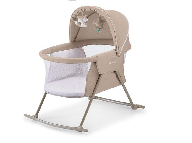 кроватка-качалка ліжечко-качалка детская дитяча Kinderkraft LOVI - 5 к