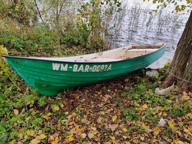Łódka łódź wędkarska