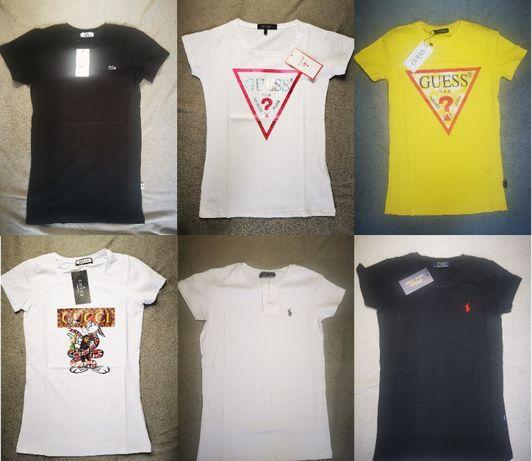 Koszulka koszulki Lacoste Ralph Guess damskie Gucci