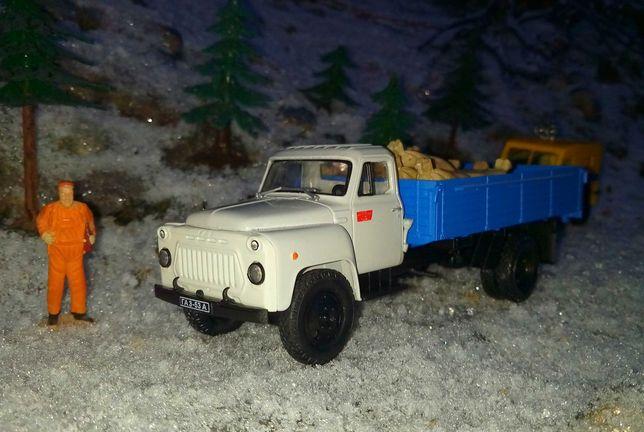1/43.б/у,ГАЗ 53А.