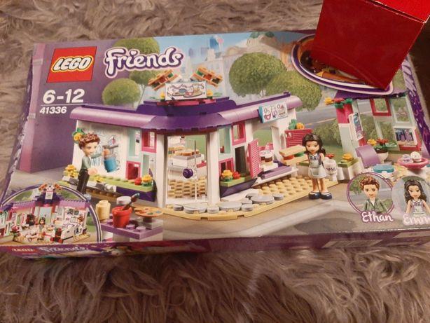 Lego friends 41336 Nowe kawiarnia artystyczna Emmy