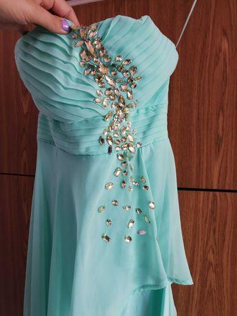 Sukienka miętową r. M
