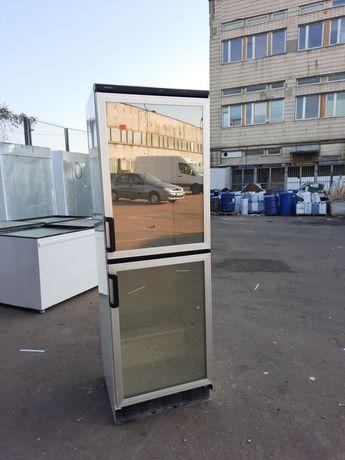 Холодильный шкаф б/у витрина зеркальный двухкамерный