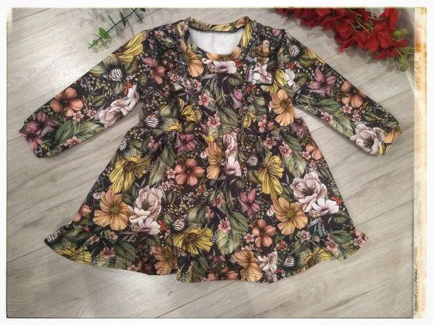 Sukienka dziewczęca handmade