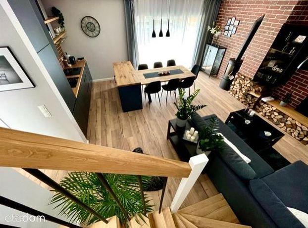 Nowy dom z klimatem: kominek, taras, 5 pokoi