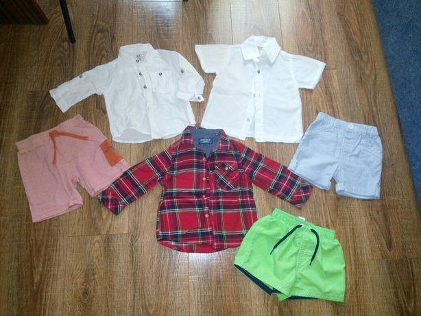 Рубашка шорты 3-12 мес