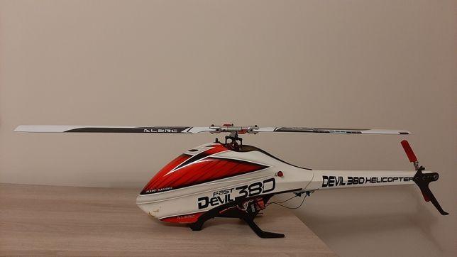 Helikopter Śmigłowiec Devil 380 fast + drugi kit!