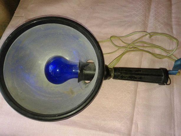 Лампа синяя рефлектор медицинский Минина СССР.